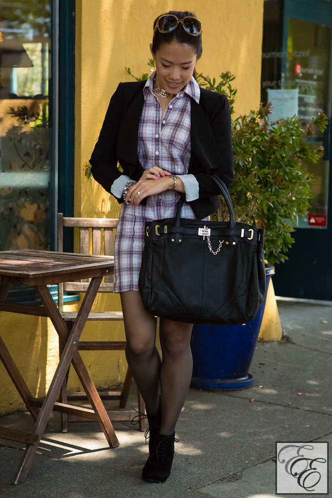 PlaidShirtDress-5