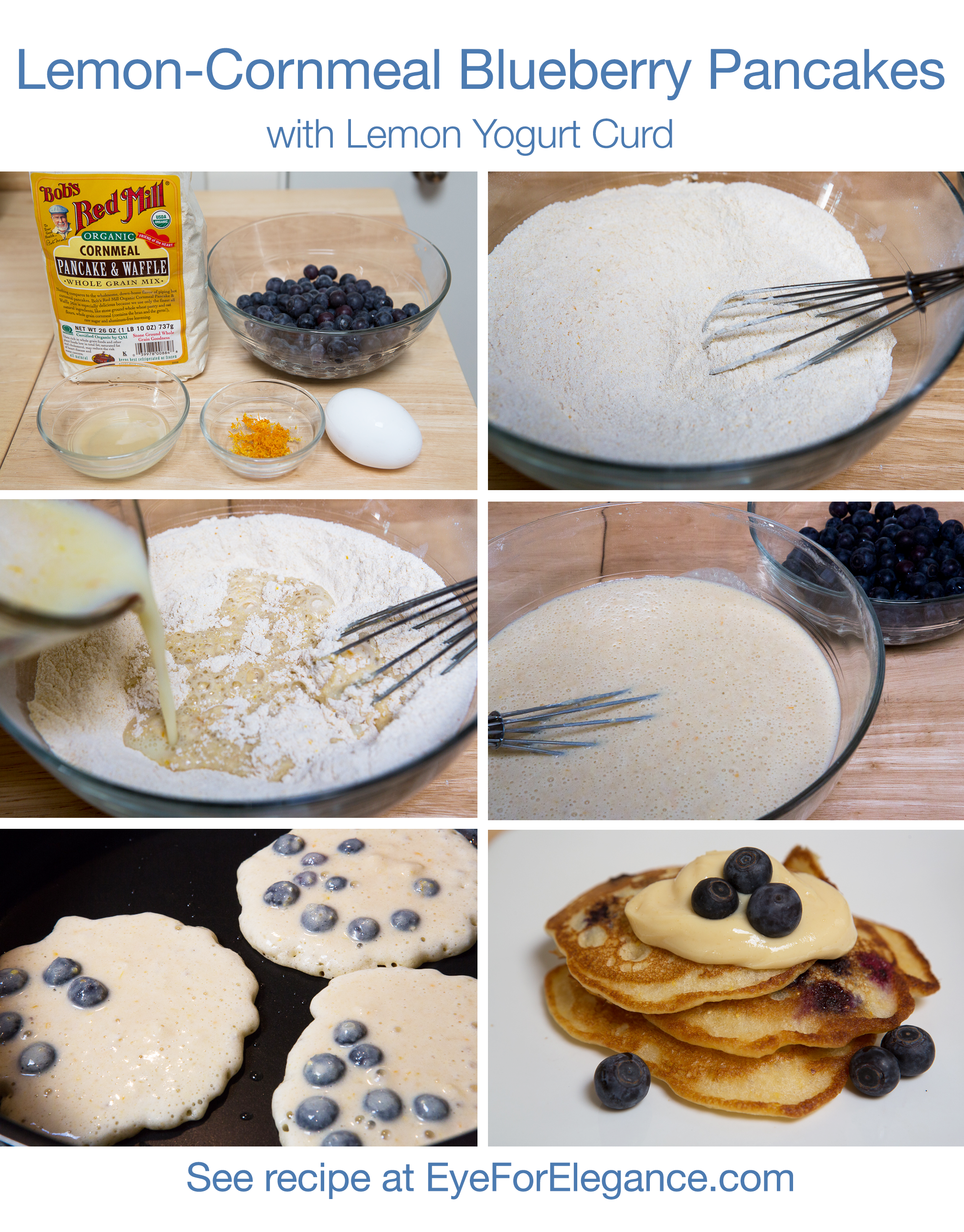 LemonBlueberryCornmealPancake_Collage