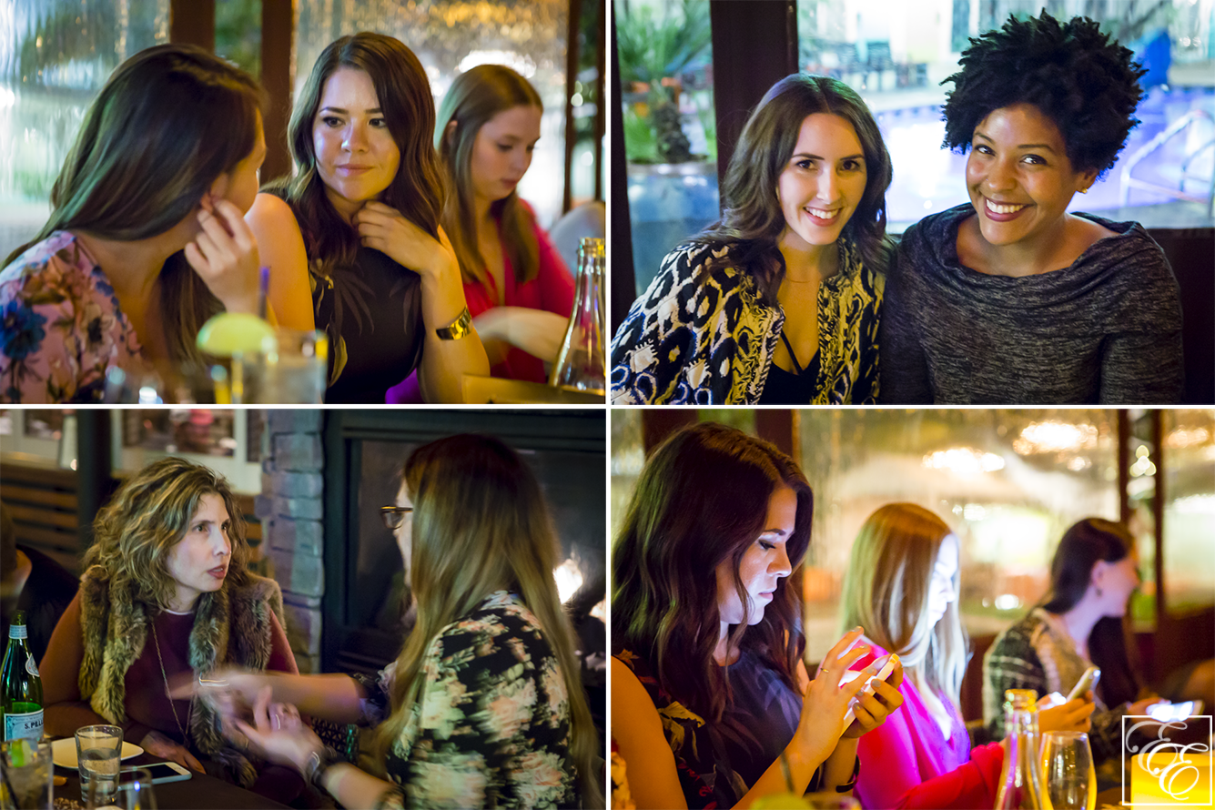 Mode Media Blogger Dinner - Candids of Bloggers