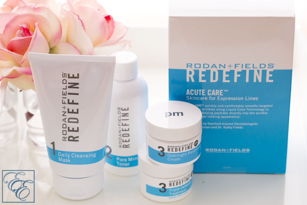 Rodan + Fields Acute and Redefine Skincare Regime - Products