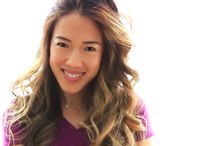 How to curl hair with T3 Twirl360 curling iron - final results of curled hair