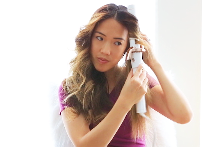 How to curl hair with T3 Twirl360 curling iron - curling hair
