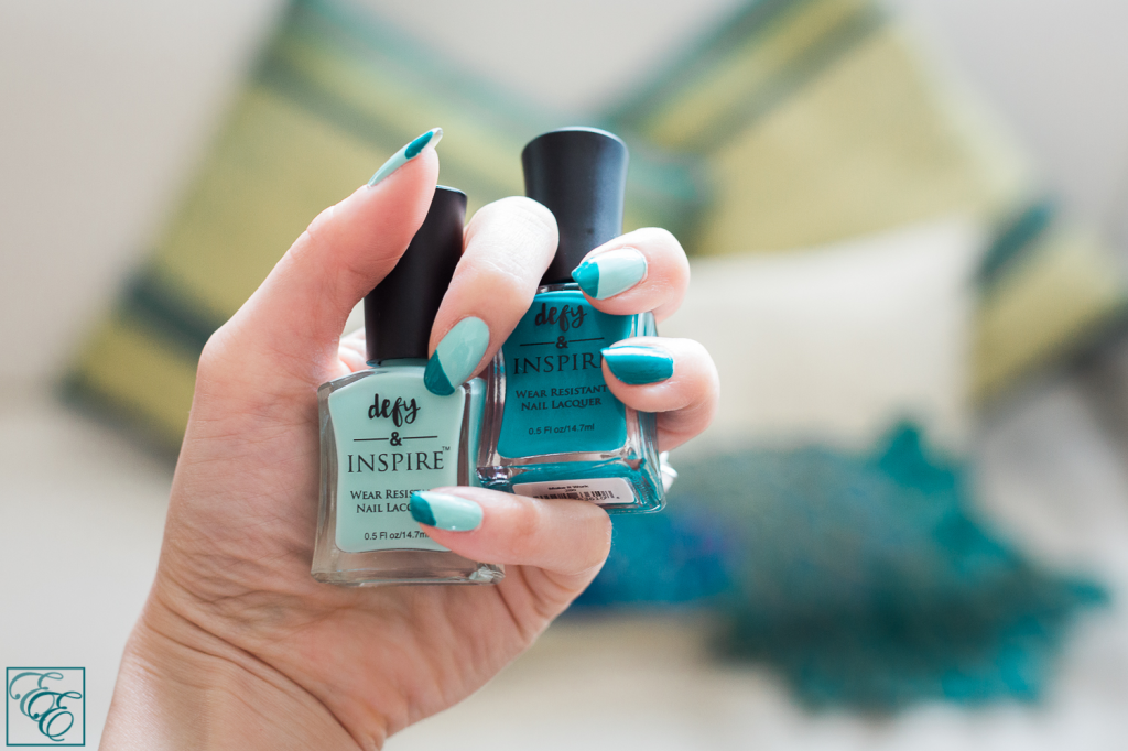"Target Defy & Inspire nail lacquer: ""Paradise Island"" and ""Make It Work"""