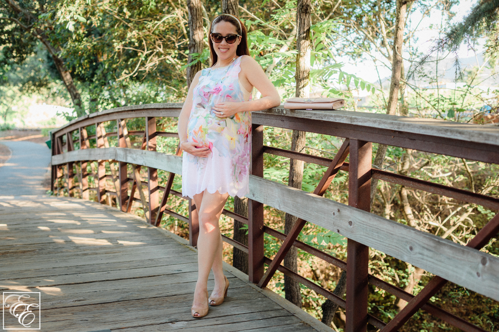 Ted Baker 'Hanging Gardens' swimsuit cover-up as maternity dress